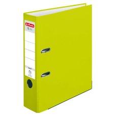 Herlitz Pákový Pákový pořadač A4/8 PP neonově zelený