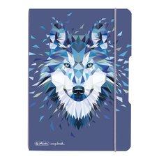 Herlitz Sešit my.book flex A5/40 listů Vlk