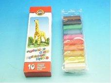 Plastelína 200g 10 barev