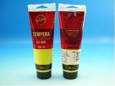 Barva temperová citronová žluť 250ml