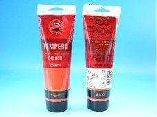 Barva temperová rumělka červená 250ml