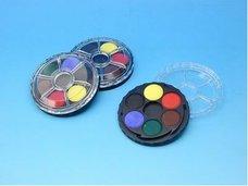 Barvy vodové kulaté 6 barev