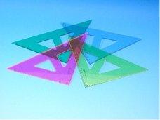 Trojúhelník žlutá barva  744152  45/177