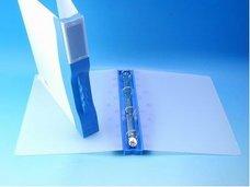 Pořadač modrý A4 4-kroužkový, plastový 754233