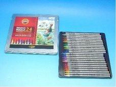 Pastelky v laku akvarelové PROGRESSO 8784/24