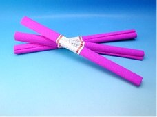 Papír krepový tm.růžový