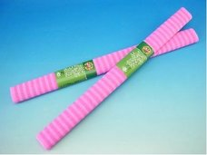 Papír krepový růžové pruhy