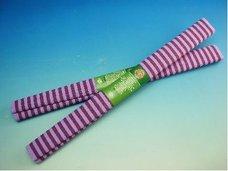 Papír krepový fialové pruhy