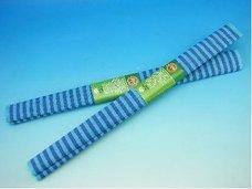 Papír krepový modré pruhy