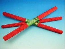 Papír krepový metalizovaný červený