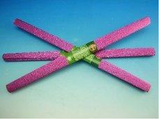 Papír krepový metalizovaný fialový
