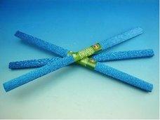 Papír krepový metalizovaný modrý