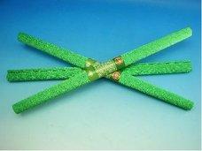 Papír krepový metalizovaný zelený