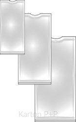 Karton P+P Samolepicí hřbetní štítek 75x25mm -12 ks