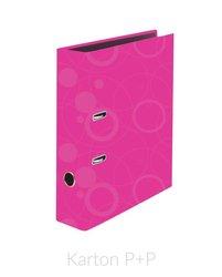Karton P+P Pořadač A4 lamino páka 7cm NEO COLORI růžová