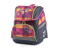 Karton P+P Školní batoh PREMIUM FLEXI Motýl 3-70618