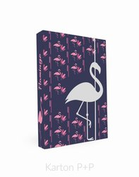 Karton P+P Box na sešity A4 Romantic Nature Flamingo
