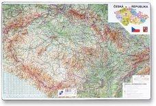 Karton P+P Podložka na stůl - Mapa České republiky