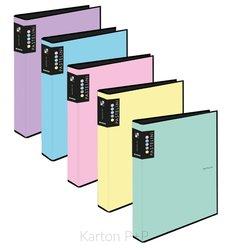 Karton P+P Pořadač A4 lamino R25-4kr. PASTELINI růžová