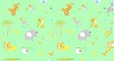 Ubrus do výtvarné výchovy 65x50cm animals