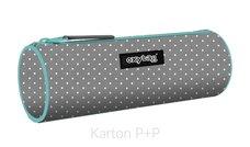 Karton P+P Pouzdro etue kulatá Grey dots
