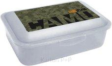 Karton P+P Box na svačinu Army