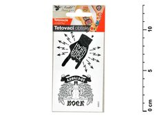 Tetovací obtisky 1111 10,5x6 cm- Rock