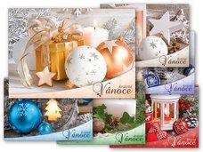 Pohlednice vánoční 142 B UV