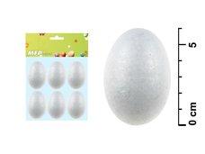 Vajíčko 6cm/6ks hladké