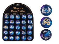 MFP Magnet dekorační kulatý 3,5cm mix 5 - horoskopy