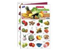 Pexeso MFP 3xA4 Ovoce a zelenina