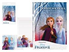 MFP Dopisní papír barevný LUX 5+10 Disney (Frozen)
