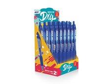 Gelové pero kus QUICK DRY - blue, modrá