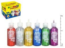 Lepidlo glitrové 20ml mix barev