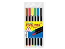 Popisovač FL  6 barev 0,7mm trojhranné