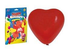Balónek nafukovací M srdce 30cm mix