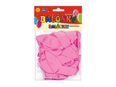 Balónek M standard 12ks 30cm růžový