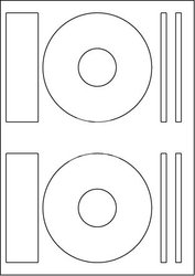 Print etikety průměr 118 mm